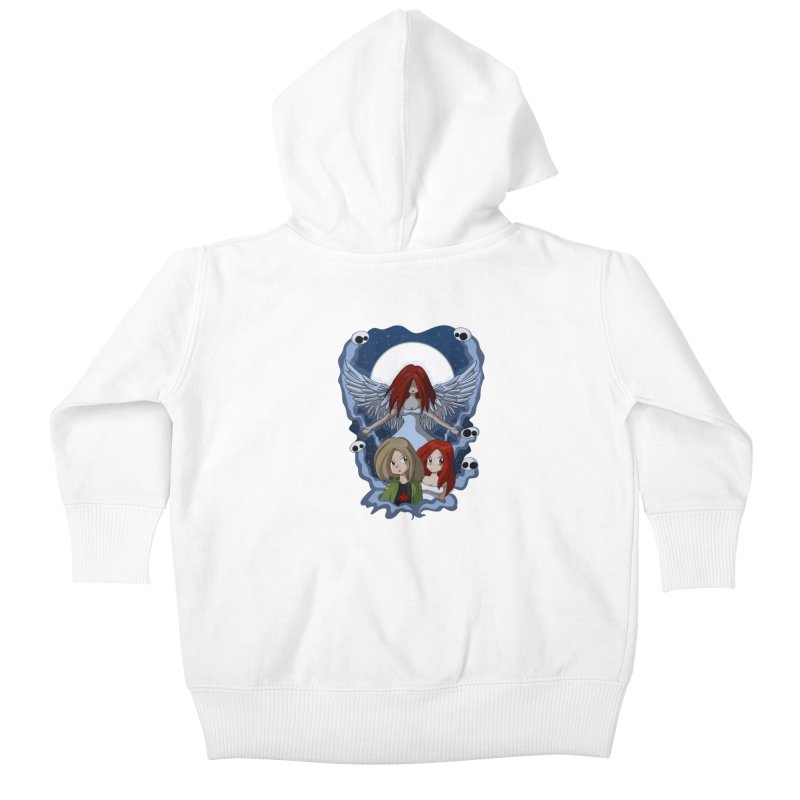 Nightmare Kids Baby Zip-Up Hoody by Kappacino Creations