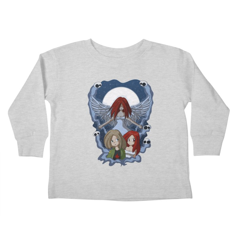 Nightmare Kids Toddler Longsleeve T-Shirt by Kappacino Creations