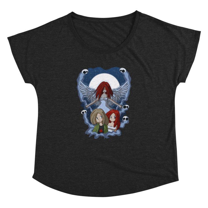 Nightmare Women's Dolman Scoop Neck by Kappacino Creations