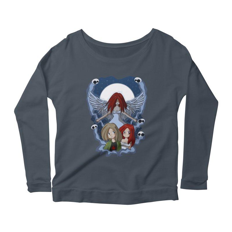 Nightmare Women's Scoop Neck Longsleeve T-Shirt by Kappacino Creations