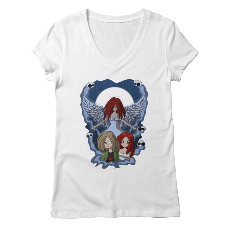 Nightmare Women's V-Neck by Kappacino Creations