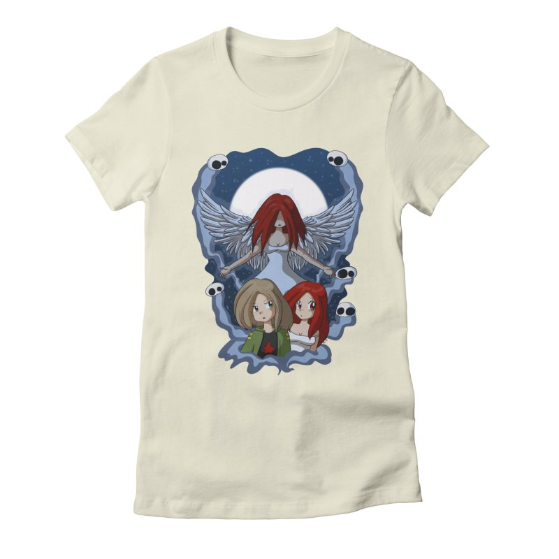 Nightmare Women's Fitted T-Shirt by Kappacino Creations