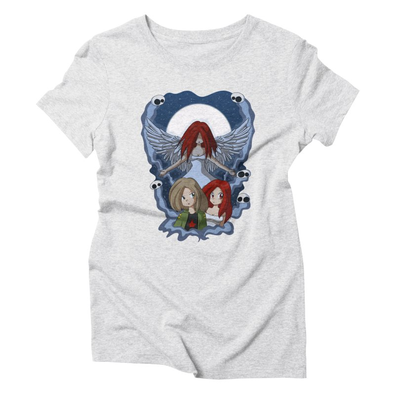 Nightmare Women's Triblend T-Shirt by Kappacino Creations