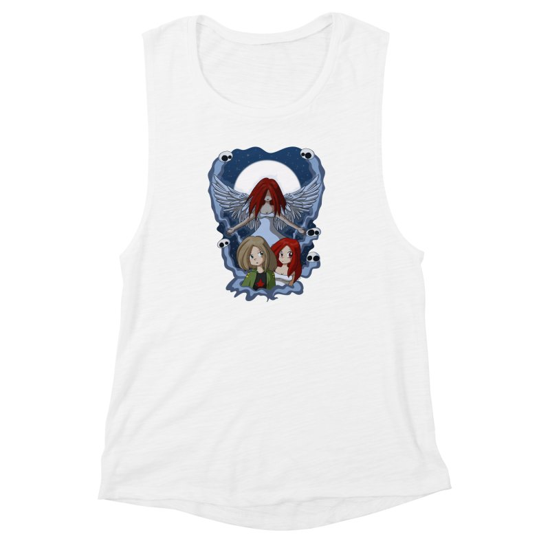 Nightmare Women's Muscle Tank by Kappacino Creations