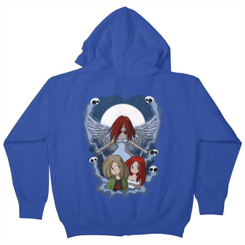 Nightmare Kids Zip-Up Hoody by Kappacino Creations