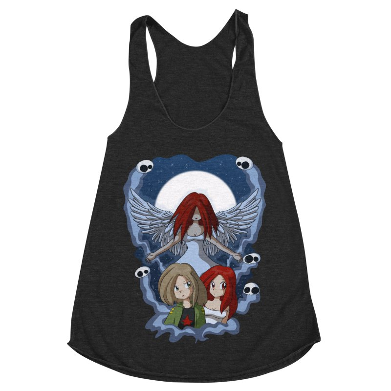Nightmare Women's Racerback Triblend Tank by Kappacino Creations