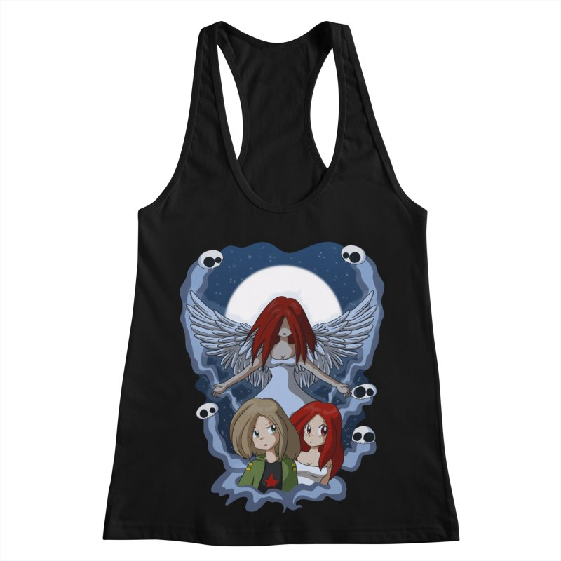 Nightmare Women's Racerback Tank by Kappacino Creations