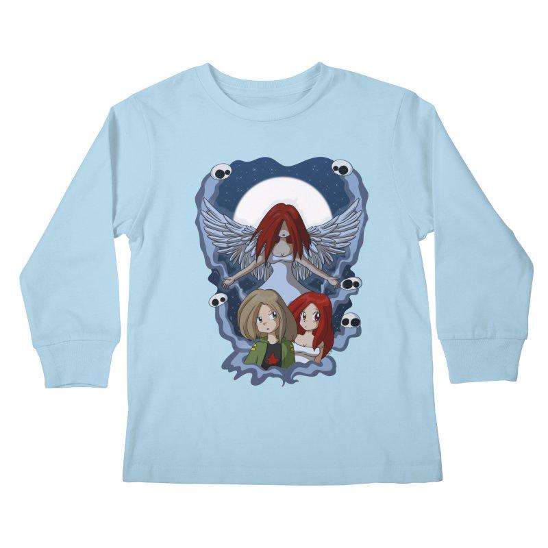 Nightmare Kids Longsleeve T-Shirt by Kappacino Creations