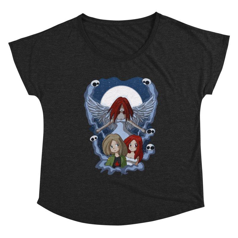 Nightmare Women's Scoop Neck by Kappacino Creations