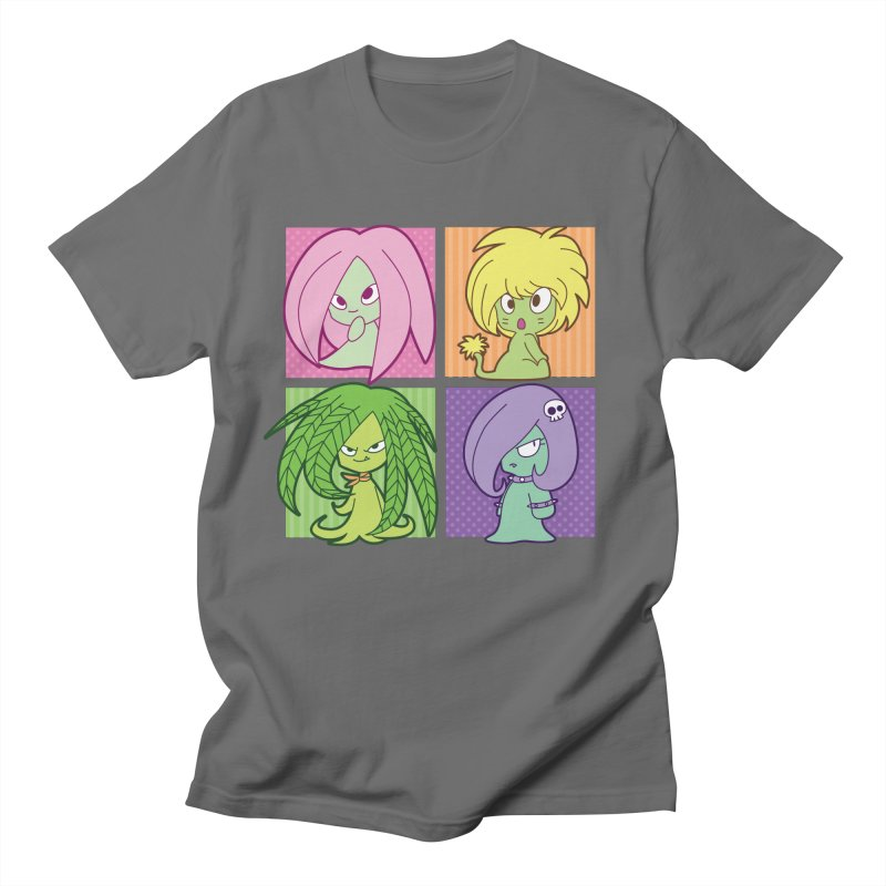 Posey, Dandelion, Fern and Thorn Men's T-Shirt by Kappacino Creations