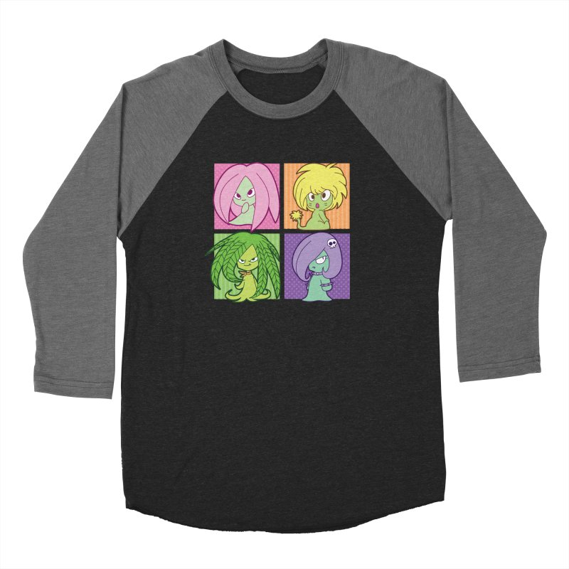 Posey, Dandelion, Fern and Thorn Women's Longsleeve T-Shirt by Kappacino Creations
