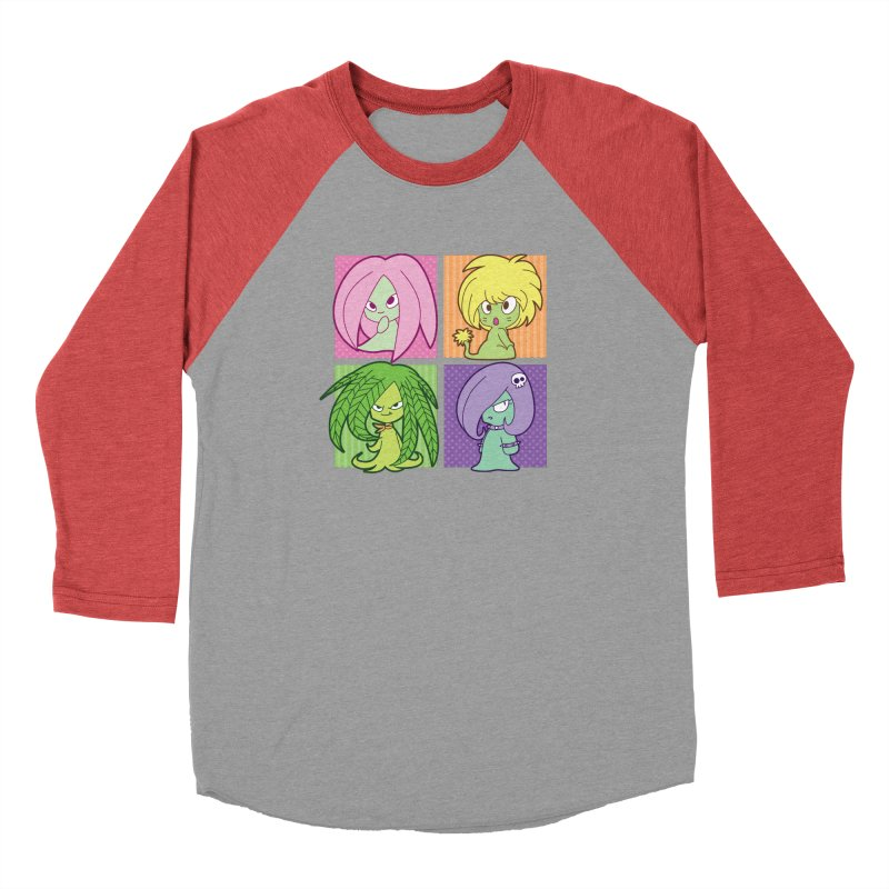 Posey, Dandelion, Fern and Thorn Men's Longsleeve T-Shirt by Kappacino Creations