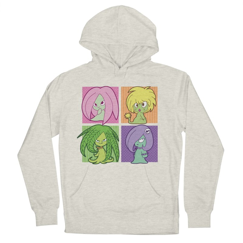 Posey, Dandelion, Fern and Thorn Women's Pullover Hoody by Kappacino Creations