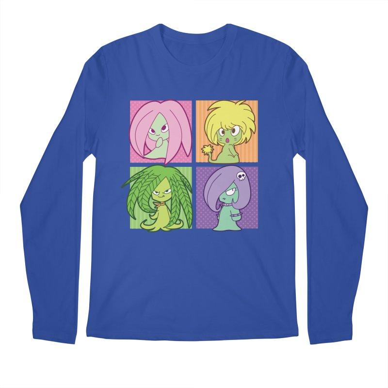 Posey, Dandelion, Fern and Thorn Men's Regular Longsleeve T-Shirt by Kappacino Creations