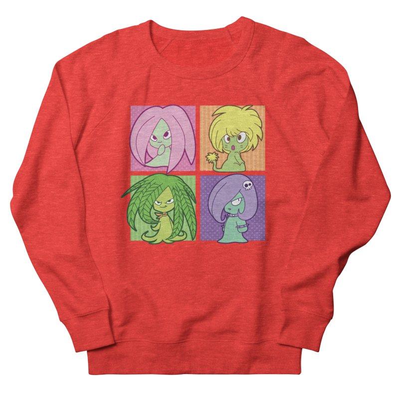 Posey, Dandelion, Fern and Thorn Women's Sweatshirt by Kappacino Creations