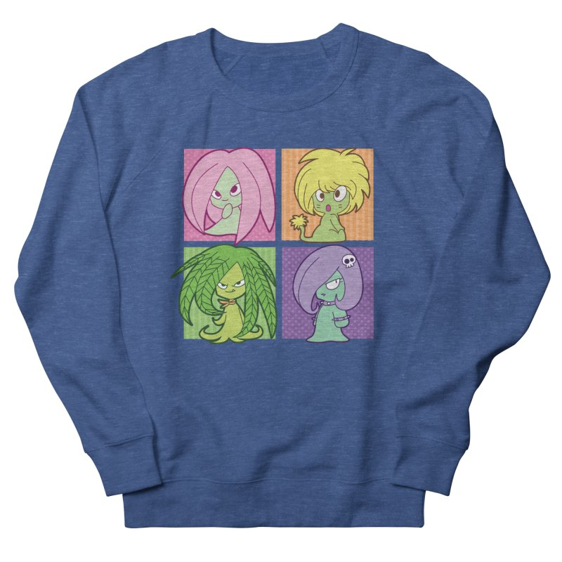Posey, Dandelion, Fern and Thorn Men's Sweatshirt by Kappacino Creations