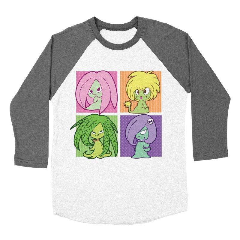 Posey, Dandelion, Fern and Thorn Women's Baseball Triblend Longsleeve T-Shirt by Kappacino Creations