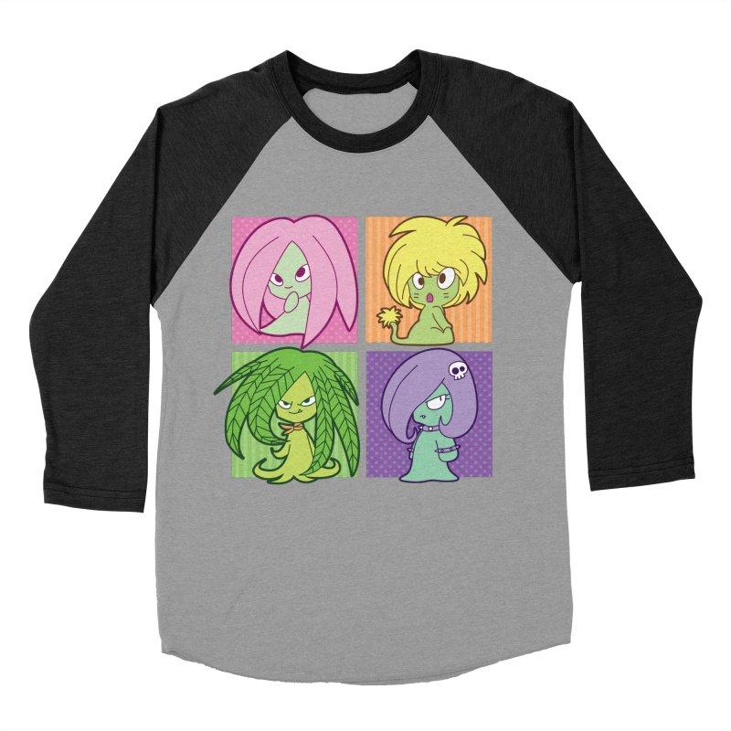 Posey, Dandelion, Fern and Thorn Women's Baseball Triblend T-Shirt by Kappacino Creations