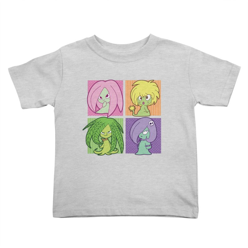 Posey, Dandelion, Fern and Thorn Kids Toddler T-Shirt by Kappacino Creations
