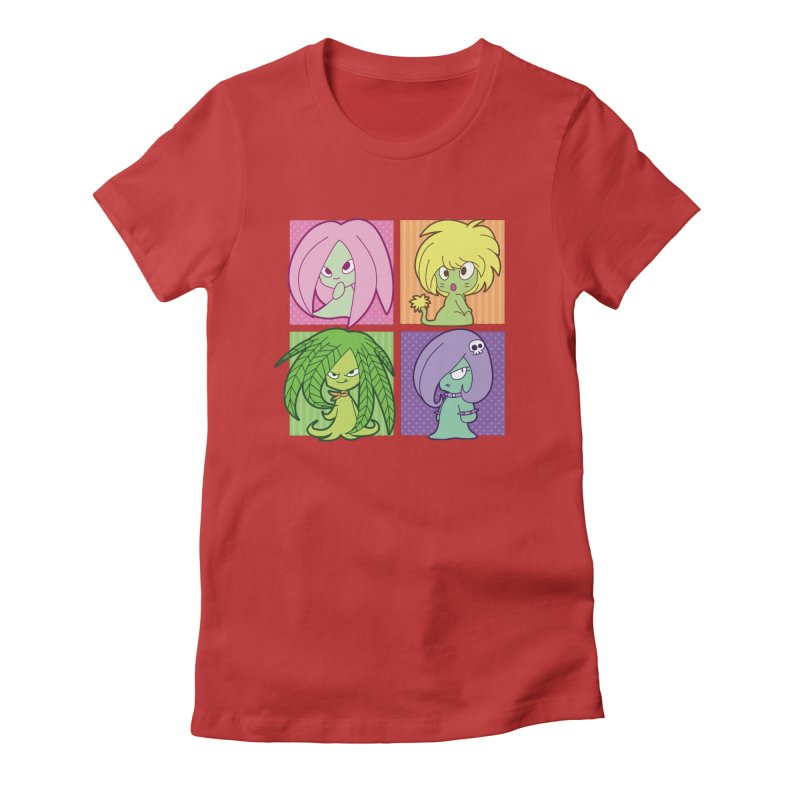 Posey, Dandelion, Fern and Thorn Women's T-Shirt by Kappacino Creations