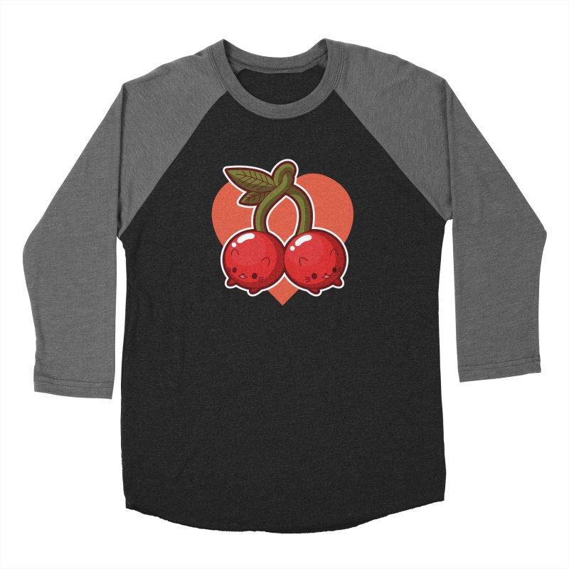 Cherries Women's Longsleeve T-Shirt by Kappacino Creations