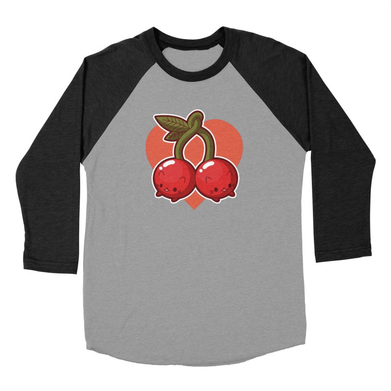 Cherries Women's Longsleeve T-Shirt by Kappacino Creations