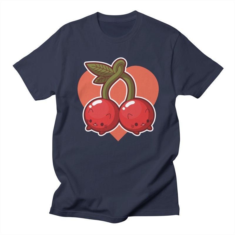 Cherries Men's T-Shirt by Kappacino Creations
