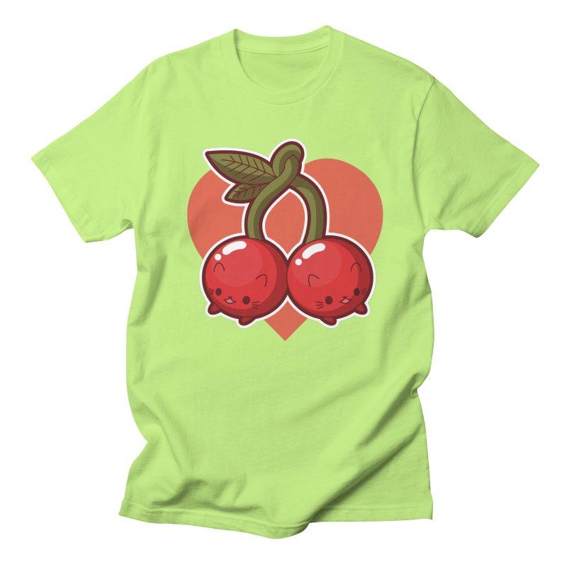 Cherries Women's Regular Unisex T-Shirt by Kappacino Creations