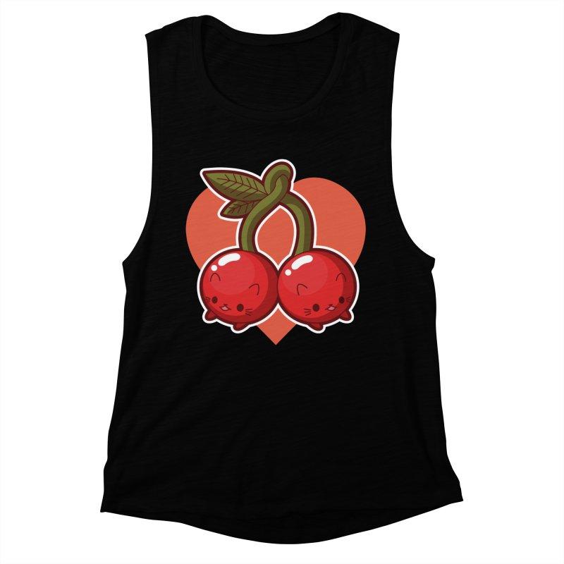 Cherries Women's Tank by Kappacino Creations