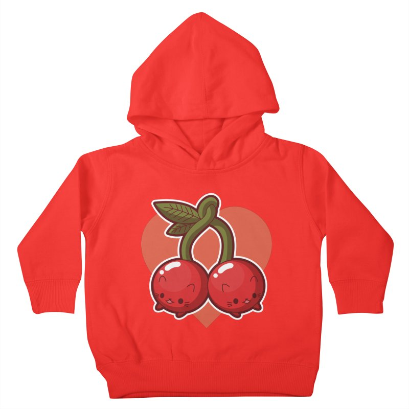 Cherries Kids Toddler Pullover Hoody by Kappacino Creations