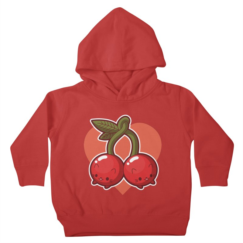 Cherries Kids Toddler Pullover Hoody by Kappacino Creations
