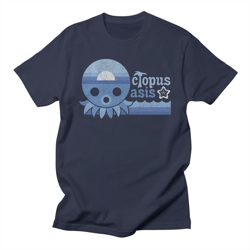 Octopus Oasis - Sea and Sky Women's Regular Unisex T-Shirt by Kappacino Creations
