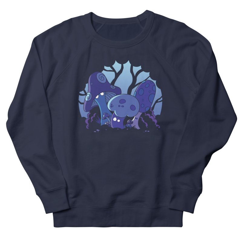 Mushrooms Women's Sweatshirt by Kappacino Creations