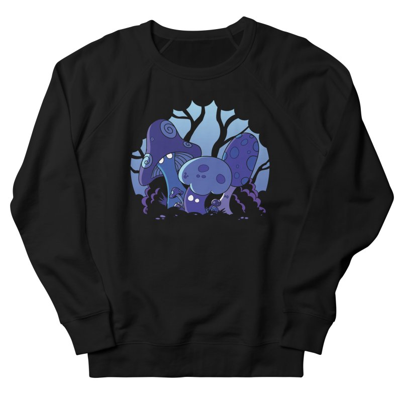 Mushrooms Men's French Terry Sweatshirt by Kappacino Creations
