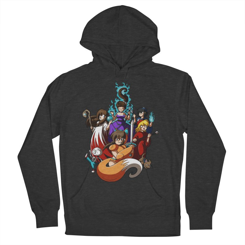 The Sword That Cuts Things Women's French Terry Pullover Hoody by Kappacino Creations