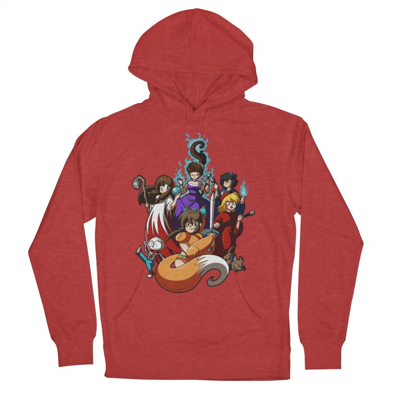 The Sword That Cuts Things Men's French Terry Pullover Hoody by Kappacino Creations