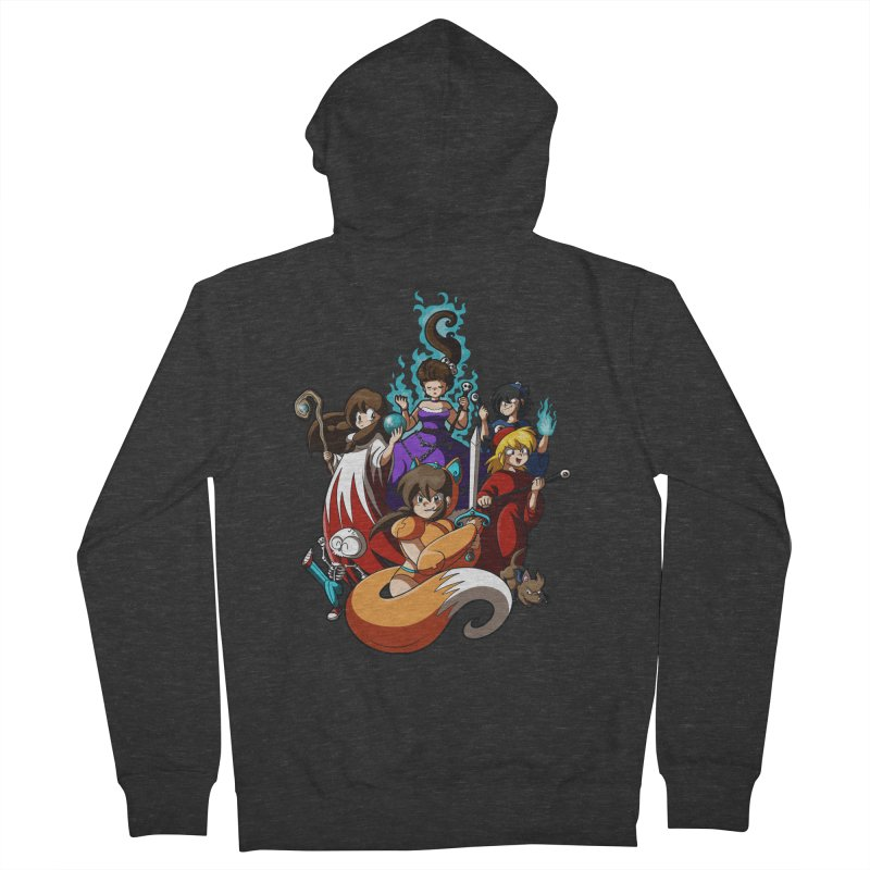 The Sword That Cuts Things Women's Zip-Up Hoody by Kappacino Creations