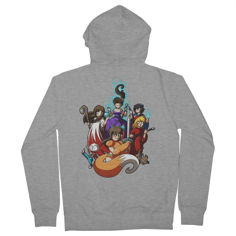 The Sword That Cuts Things Women's French Terry Zip-Up Hoody by Kappacino Creations
