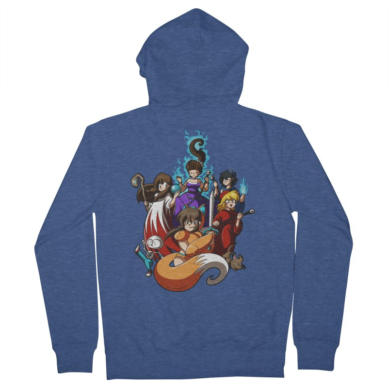 The Sword That Cuts Things Men's French Terry Zip-Up Hoody by Kappacino Creations