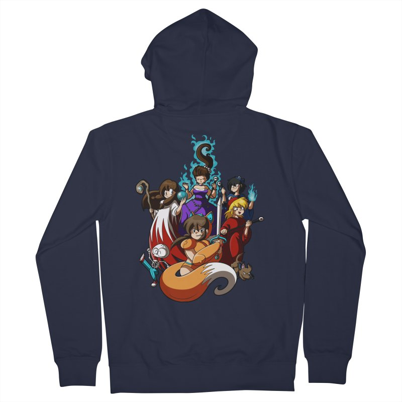 The Sword That Cuts Things Men's Zip-Up Hoody by Kappacino Creations