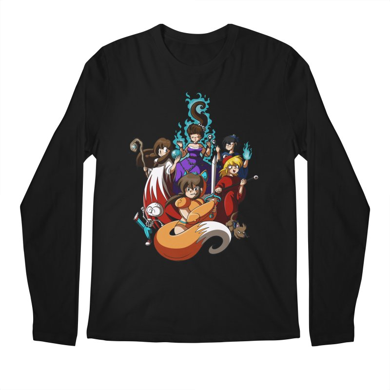 The Sword That Cuts Things Men's Longsleeve T-Shirt by Kappacino Creations