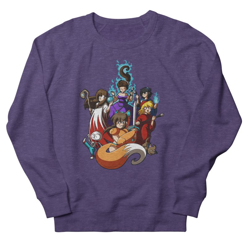 The Sword That Cuts Things Women's French Terry Sweatshirt by Kappacino Creations