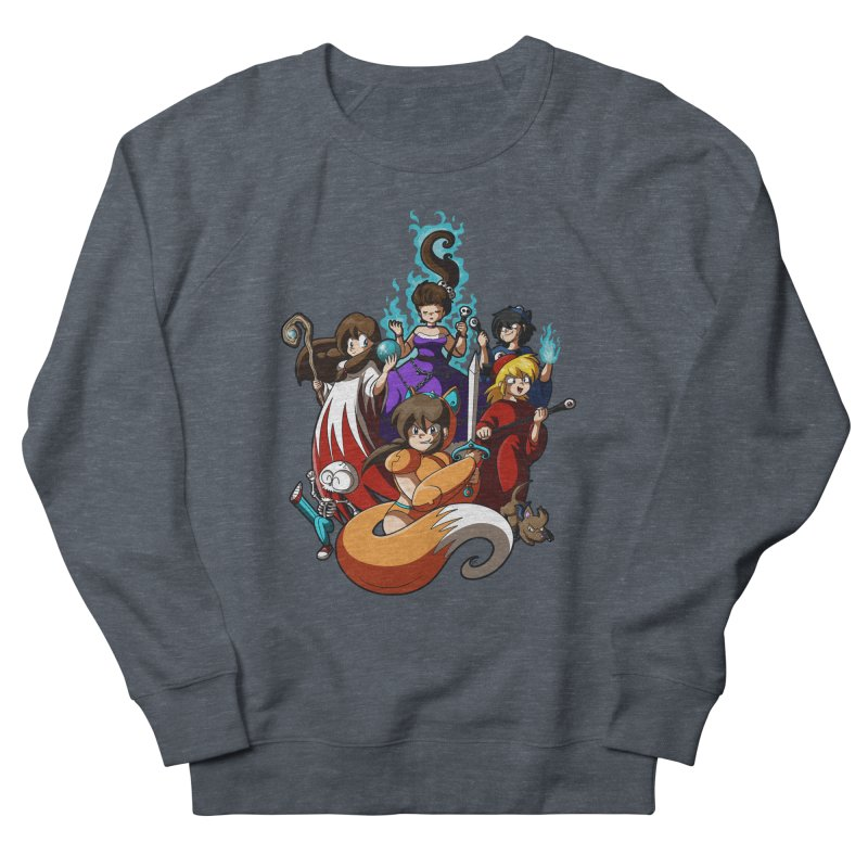 The Sword That Cuts Things Men's French Terry Sweatshirt by Kappacino Creations