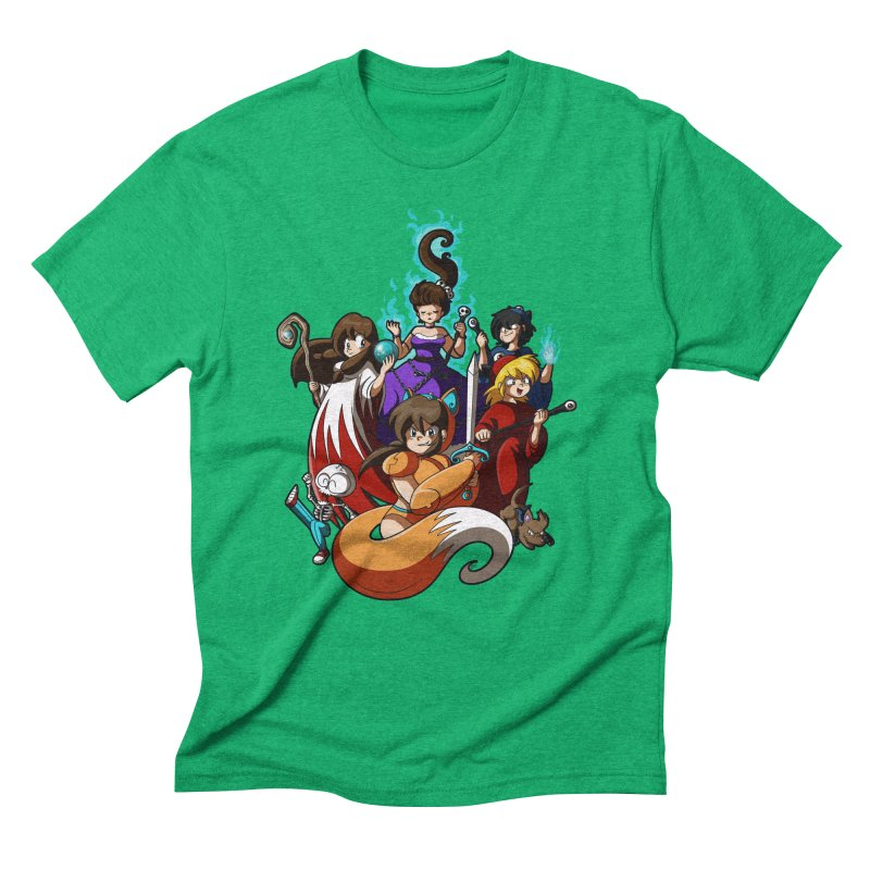 The Sword That Cuts Things Men's Triblend T-Shirt by Kappacino Creations