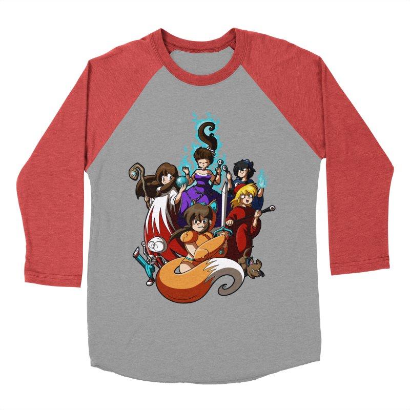 The Sword That Cuts Things Women's Baseball Triblend Longsleeve T-Shirt by Kappacino Creations