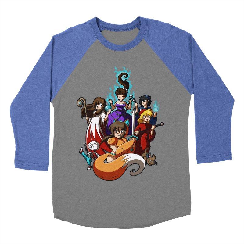 The Sword That Cuts Things Men's Baseball Triblend T-Shirt by Kappacino Creations