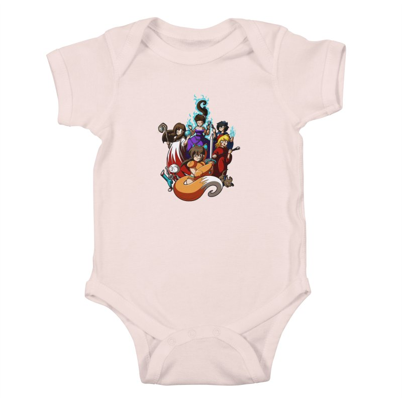 The Sword That Cuts Things Kids Baby Bodysuit by Kappacino Creations