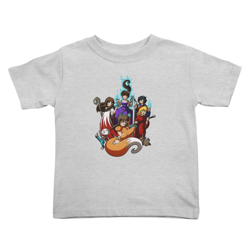 The Sword That Cuts Things Kids Toddler T-Shirt by Kappacino Creations
