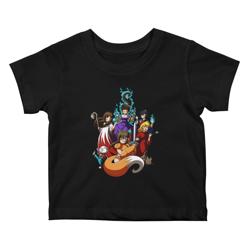 The Sword That Cuts Things Kids Baby T-Shirt by Kappacino Creations