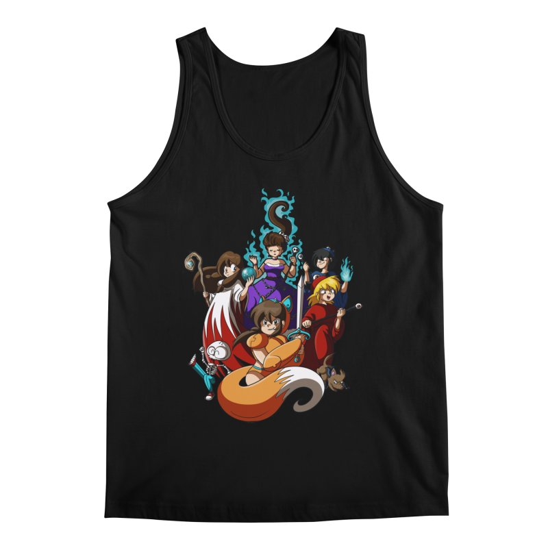 The Sword That Cuts Things Men's Tank by Kappacino Creations